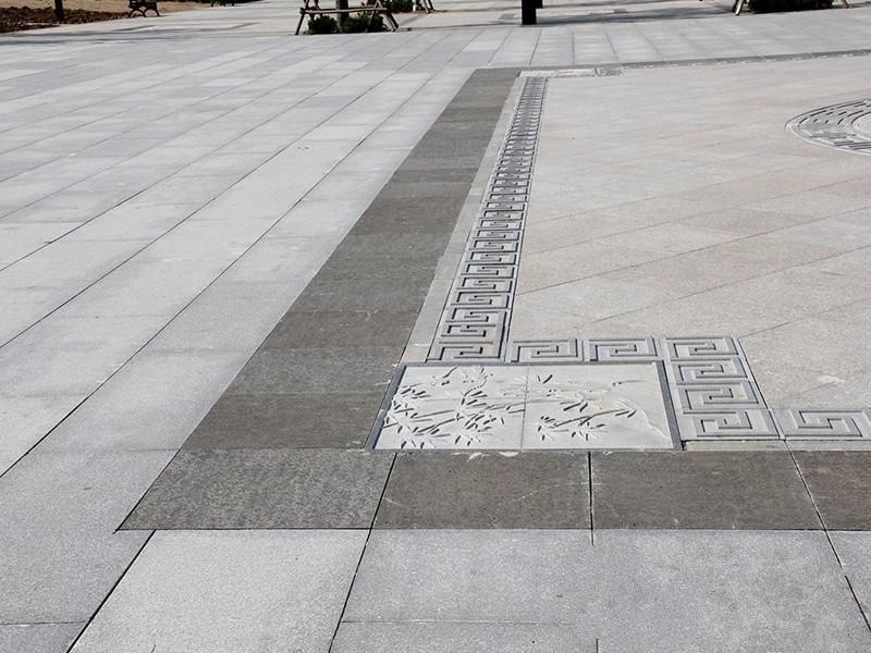 青石板石材表面銹斑的清理方法