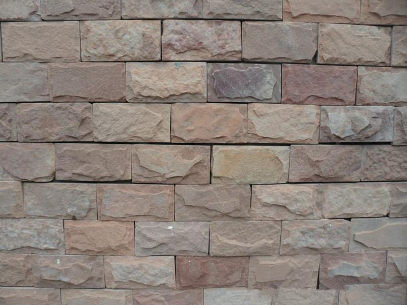 青石板蘑菇石用來裝修房屋外墻效果怎么樣?