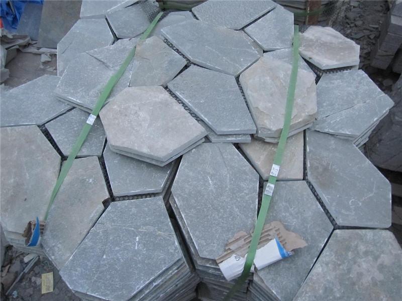 不規則青石板石材