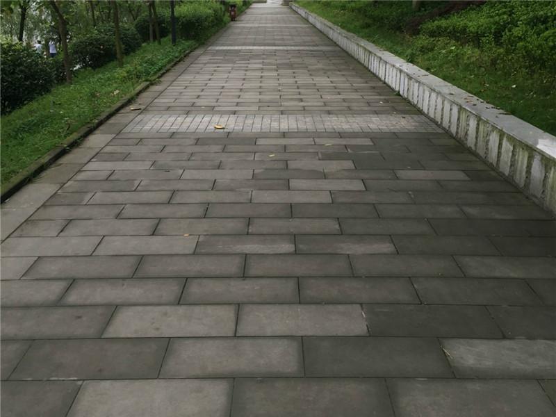 人行道青石板